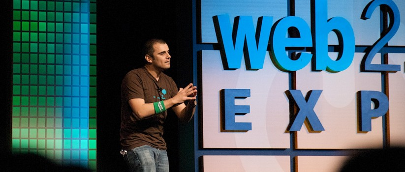 "Gary Vaynerchuk ""killed it"" in his keynote at the Web 2.0 Expo."